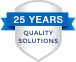 25 years quality solutions